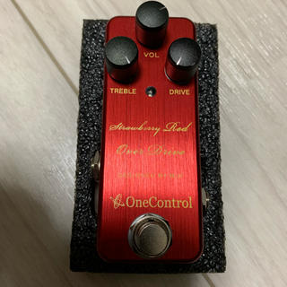 One control strawberry red over drive(エフェクター)