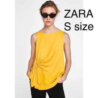 ザラ(ZARA)の新品未使用 ZARA(シャツ/ブラウス(半袖/袖なし))