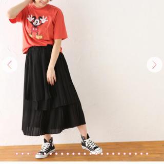 アバンリリー(Avan Lily)の新品タグ付avanlilyアシメプリーツスカート(その他)
