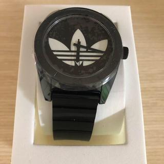 アディダス(adidas)のADIDAS アディダス ADH6167 ブラック サンティアゴ  腕時計(腕時計(アナログ))