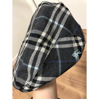 バーバリーブルーレーベル(BURBERRY BLUE LABEL)の最近値下げ!Burberry バーバリー ハンチング 帽子(ハンチング/ベレー帽)