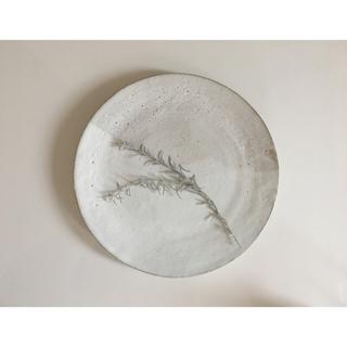 White mat plate(食器)