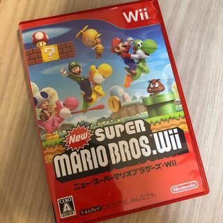 ウィー(Wii)のwii ニュー・スーパーマリオブラザーズ (家庭用ゲームソフト)