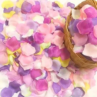 ラプンツェル★フラワーシャワー花びら1000枚  造花 ウエディング 結婚式(ウェルカムボード)