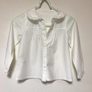 クミキョク(kumikyoku(組曲))の●組曲 ブラウス Sサイズ 110-120 美品 着用一度●(Tシャツ/カットソー)