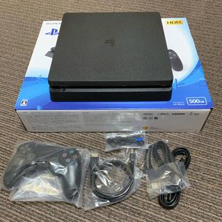 PlayStation4 - プレステーション4 未使用品 HDR 500GB ジェットブラック