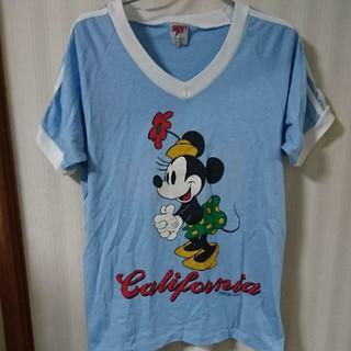ディズニー(Disney)のミニーマウスのTシャツ(Tシャツ(半袖/袖なし))