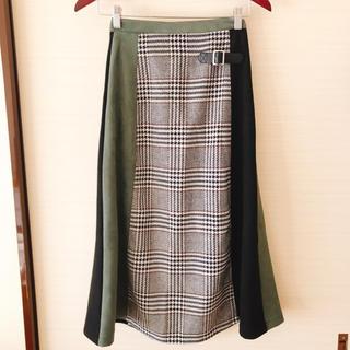 ドゥドゥ(DouDou)のDOU DOU スカート フリーサイズ(ひざ丈スカート)