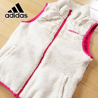 アディダス(adidas)の超美品 Mサイズ アディダス ネオレーベル ボアベスト アイボリー(その他)