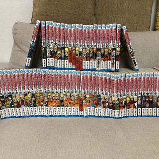 シュウエイシャ(集英社)のナルト NARUTO 全巻少し足らず 1〜67巻セット(少年漫画)