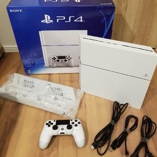 プレイステーション4(PlayStation4)のPS4 500GB+スタンドセット(家庭用ゲーム本体)