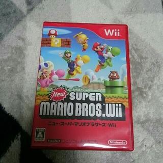 ウィー(Wii)のwiiソフト  マリオブラザーズ(家庭用ゲームソフト)