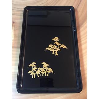 輪島塗 切手盆 名刺盆 長期保管品(漆芸)