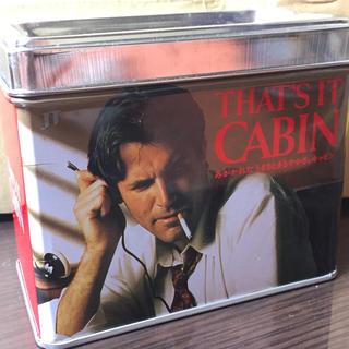 CABIN レトロ 缶 灰皿(小物入れ)