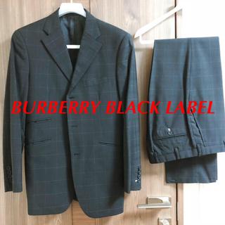 バーバリーブラックレーベル(BURBERRY BLACK LABEL)の★eiichi36様専用 バーバリー ブラック レーベル スーツ メンズ 38R(セットアップ)