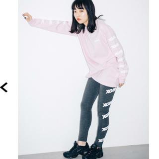 X-girl - 未使用 X-girl Sports LEGGINGS OBLIQUE LOGO