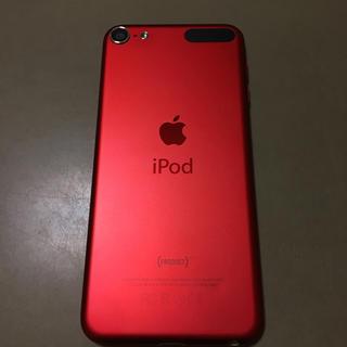 アイポッドタッチ(iPod touch)のiPod touch 第6世代 32GB PRODUCT RED(ポータブルプレーヤー)