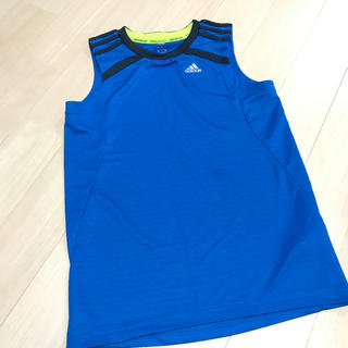 アディダス(adidas)の新品タグ無し アディダスタンクトップ 160(Tシャツ/カットソー)
