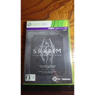 エックスボックス360(Xbox360)のxbox360 スカイリム レジェンダリーエディション(家庭用ゲームソフト)