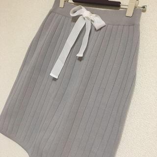 JILLSTUART - JILLSTUARTのリブニットスカート