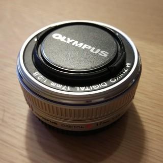 オリンパス(OLYMPUS)のM.ZUIKO 17mm F2.8 シルバー(レンズ(単焦点))