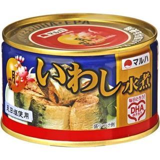 【24缶セット】☆マルハ 月花いわし水煮 200g(缶詰/瓶詰)