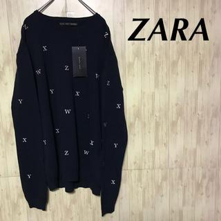 ザラ(ZARA)の新品タグ付き ZARA ニット 総柄セーター(ニット/セーター)