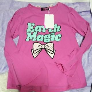 アースマジック(EARTHMAGIC)のアースマジック♡130ピンク(Tシャツ/カットソー)