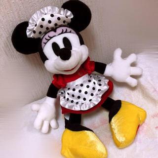ディズニー(Disney)のディズニー ミッキーズホテル ミニー ウェイトレス ぬいぐるみ (ぬいぐるみ)