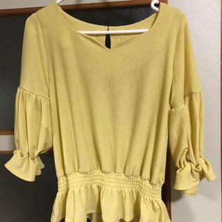 ミスティウーマン(mysty woman)のmisty woman のトップス(Tシャツ(長袖/七分))