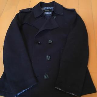 バーバリーブラックレーベル(BURBERRY BLACK LABEL)のバーバリー コート 濃紺 メンズ M Burberry black label(ピーコート)