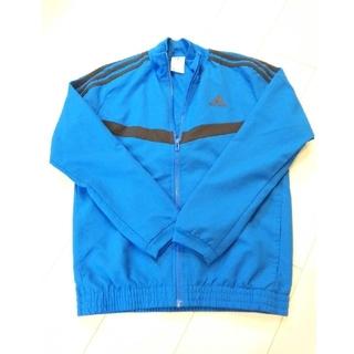 アディダス(adidas)の《adidas》アディダス ブルー ジャンパー 男児150 M(ジャケット/上着)