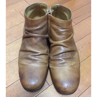 パドローネ(PADRONE)の値下げ パドローネ ショートブーツ キャメル(ブーツ)