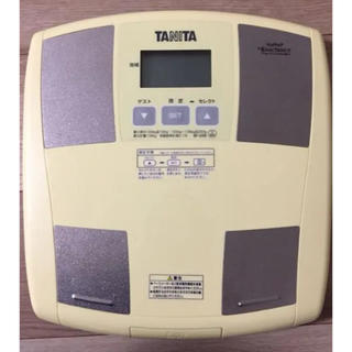 タニタ(TANITA)のTANITA 体脂肪計付 ヘルスメーターBF-035YL(体重計)