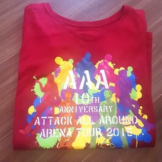 トリプルエー(AAA)のAAA 10th Anniversaryライブシャツ Mサイズ(ミュージシャン)