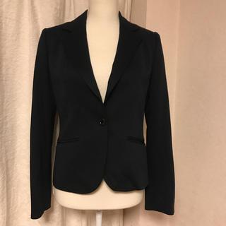 アリスバーリー(Aylesbury)の新品タグ付きアリスバーリーの濃紺ジャケット サイズ9号 フォーマルにも(テーラードジャケット)