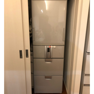両開き大型冷蔵庫 SHARP SJ-HL42P-S(冷蔵庫)