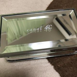カナルヨンドシー(canal4℃)のカナル4°C アクセサリーケース(小物入れ)