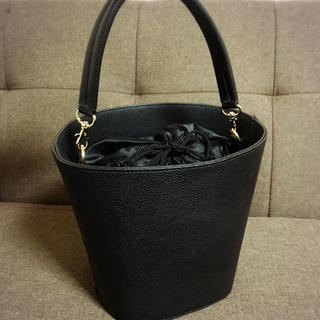 シマムラ(しまむら)の【美品】2way バケツ型バッグ(ショルダーバッグ)