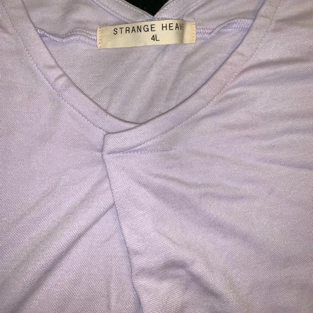 しまむら(シマムラ)のカットソー ほぼノースリーブ レディースのトップス(カットソー(半袖/袖なし))の商品写真
