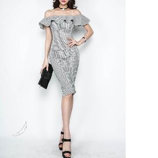 #ドレス #キャバ #パーティ #フォーマル(ミディアムドレス)