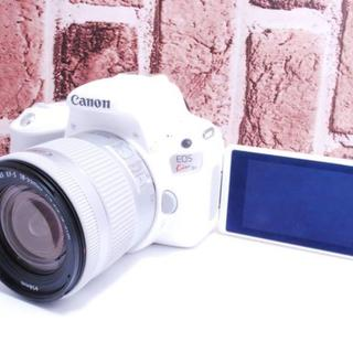 キヤノン(Canon)の★新品級★希少カラー★EOS Kiss X9 レンズセット ホワイト(デジタル一眼)