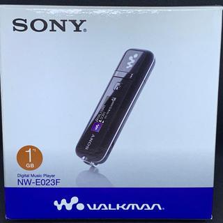 ウォークマン(WALKMAN)のSONY WALKMAN NE-E023F 1GB ジャンク(ポータブルプレーヤー)