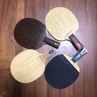 卓球ラケット4本セットの出品です。(卓球)