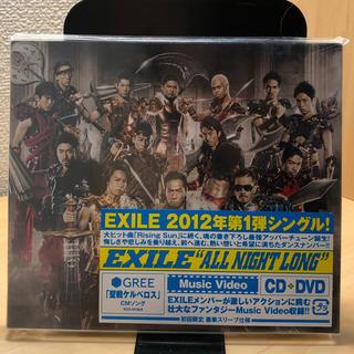 """エグザイル(EXILE)のEXILE """"ALL NIGHT LONG"""" 初回限定版 CD+DVD(R&B/ソウル)"""