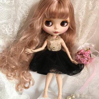 icyドール アイシードール  ♡ブライス風海外ドール♡ブロンドmixピンク(人形)