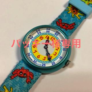 スウォッチ(swatch)の【電池交換済】Flick Flack 子供用腕時計(腕時計)