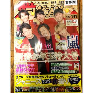 ブイシックス(V6)のザテレビジョン 首都圏関東版 2019年1/11増刊号(アート/エンタメ/ホビー)