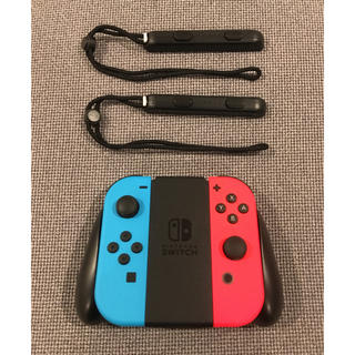 Nintendo Switch - nintendo switch ジョイコン グリップ セット joy-con