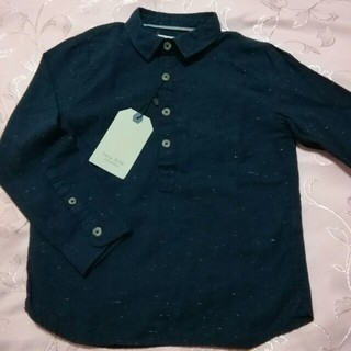 ザラ(ZARA)の新品ZARA長袖シャツ116cm(Tシャツ/カットソー)